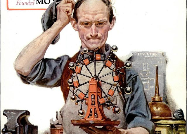 Perpetual Motion, by Norman Rockwell