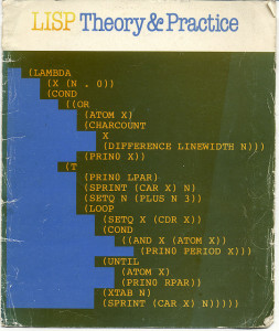 Cover for Lisp: Theory & Practice